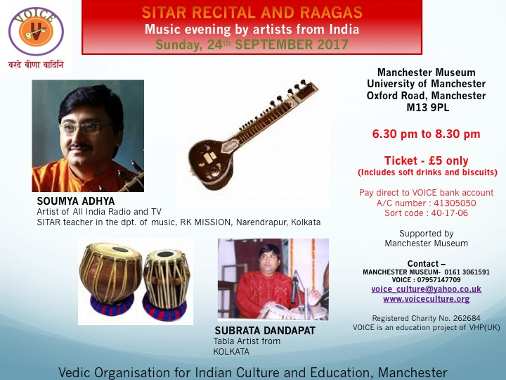 Sitar Recital and Raagas